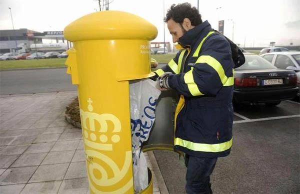 Masivo seguimiento en la primera de las tres huelgas for Oficina correos cadiz