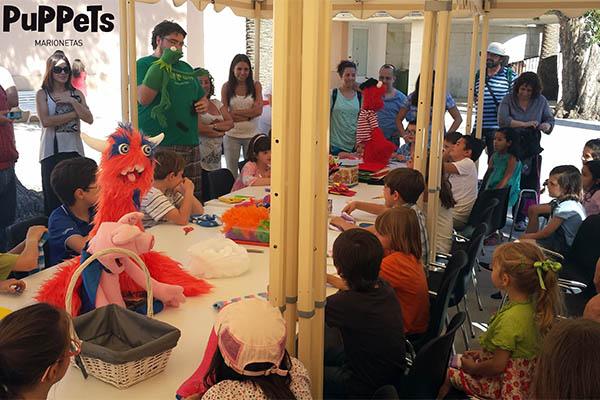 El taller 39 crea tu propia marioneta 39 en la casa de - Crea tu propia casa ...