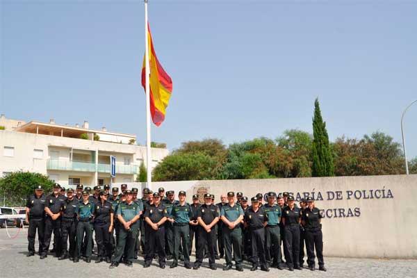 Polic a nacional y guardia civil en una jornada de - Policia nacional cadiz ...