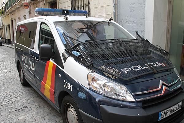 Detenido en jerez un var n cuando apu alaba a su propio for Portal de servicios internos policia