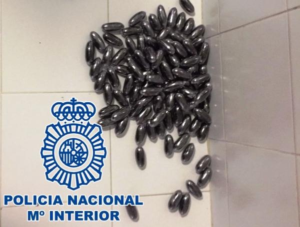 Detenido por intentar entrar a espa a por c diz con dos - Policia nacional cadiz ...